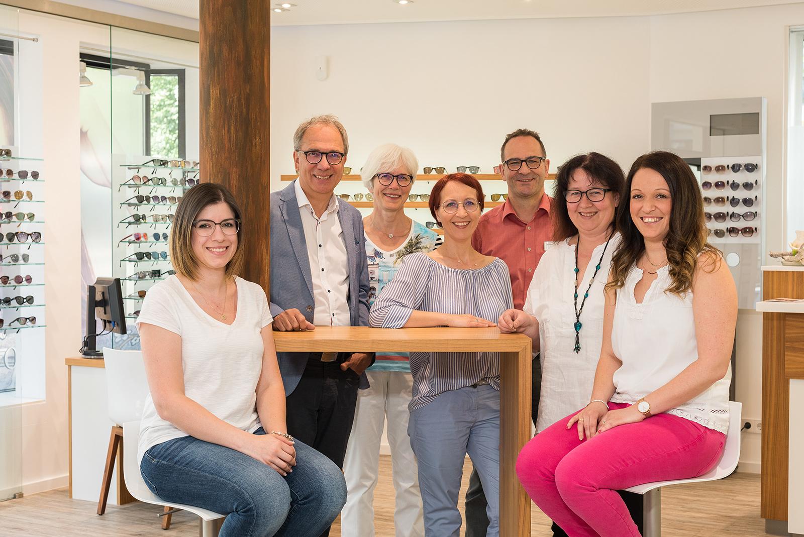 Team von Optik Jaudes